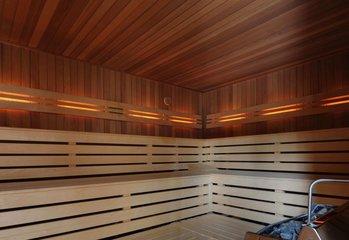 Sauna arrangement
