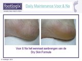 Footlogix Daily Maintenance Formula Mousse 125ml_