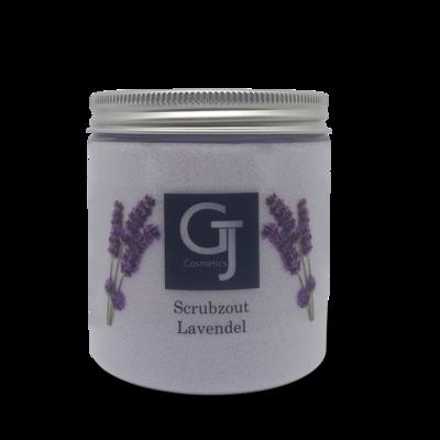GJ Cosmetics Scrubzout Lavendel