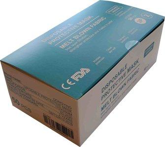 Mondkapjes op voorraad 100 stuks, verpakt in 2 dozen