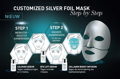 Babor Doctor Babor Lifting Cellular Silver Foil Face Mask